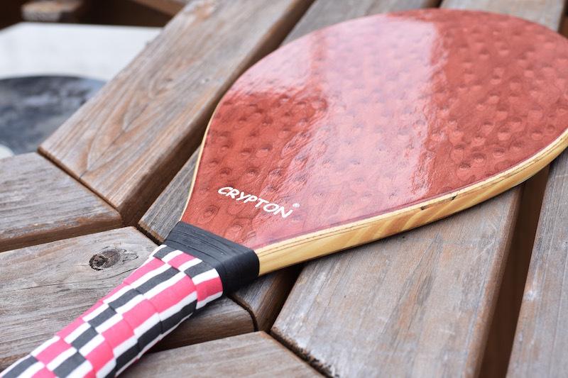 CRYPTON Wood Racket