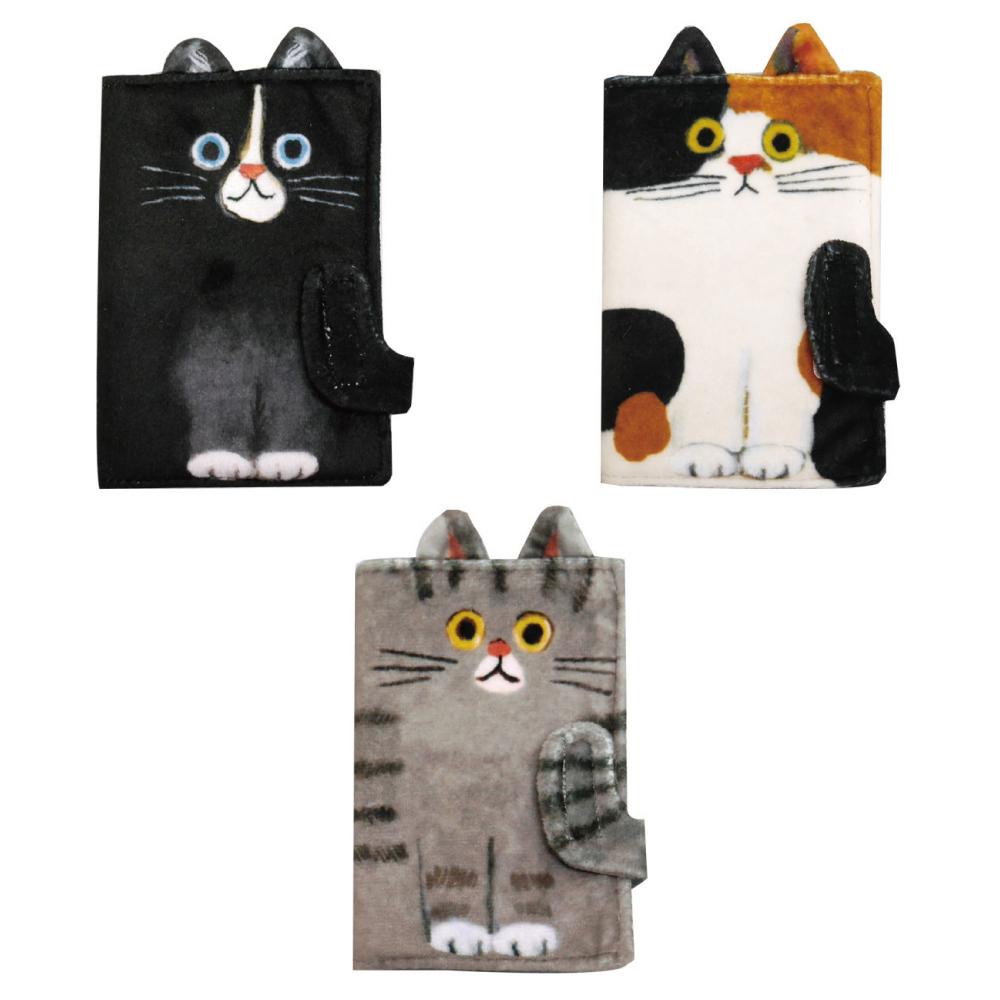 猫カードポーチ(エクートミネットネコニャンコ)全3種類