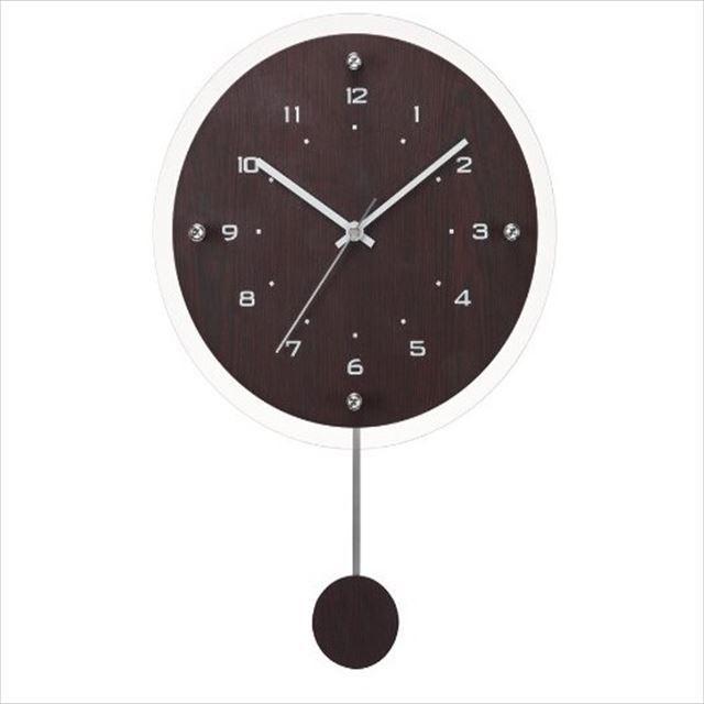 振り子時計 電波時計 ナチュラル Antilles ~アンティール~ W-473 ノア精密 - 画像3