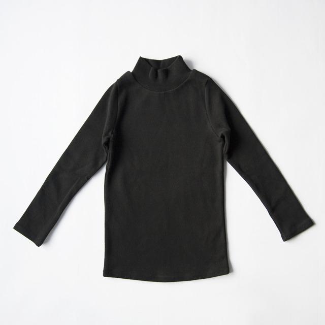【SALE】 1,800yen⇒1,260yen スタンダードハイネック(ブラック)