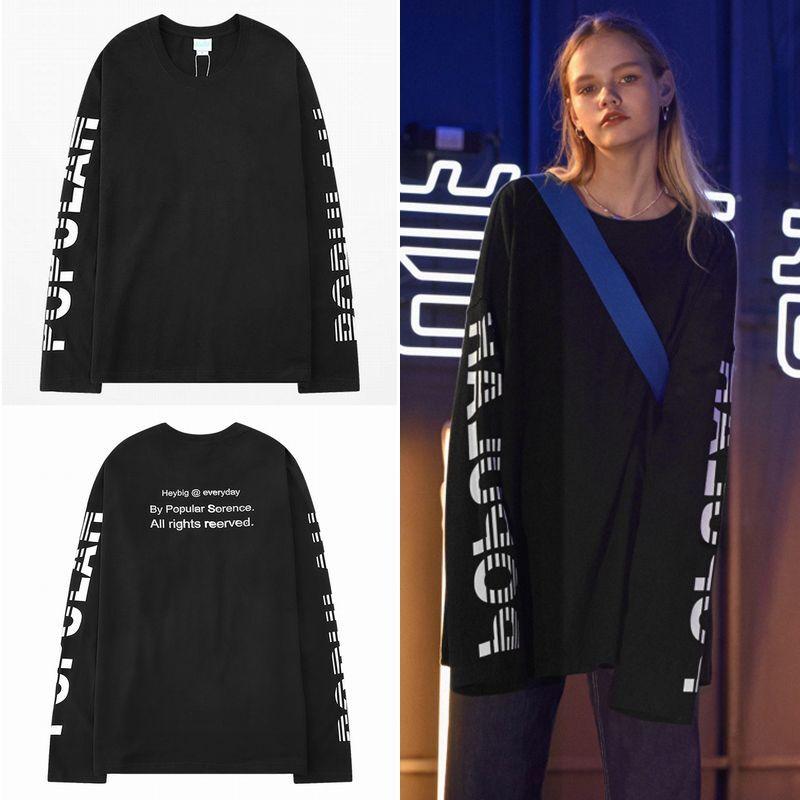 ユニセックス 長袖 Tシャツ メンズ レディース 袖プリント バックプリント 英字 オーバーサイズ 大きいサイズ ストリート