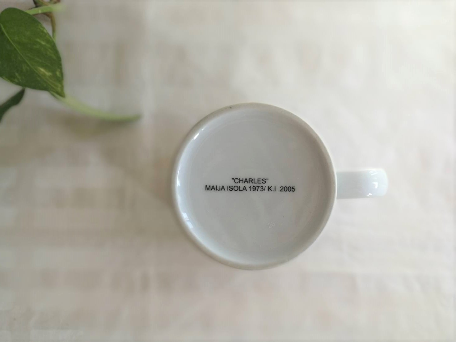 [廃盤] マグカップ / マリメッコ / Charles / 2005年限定  旧マグ