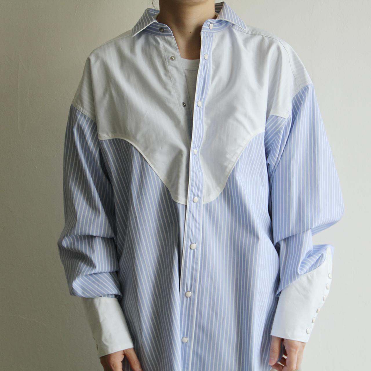 JUN MIKAMI 【 womens 】almo western shirts