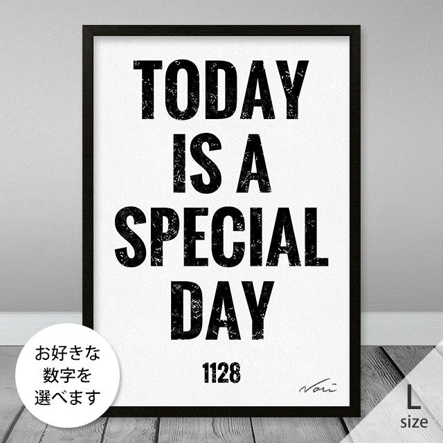 記念日が入るアートL(A3サイズ)お祝い