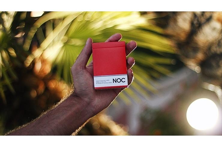 NOC Original Deck (Red) Printed at USPCC by The Blue Crown