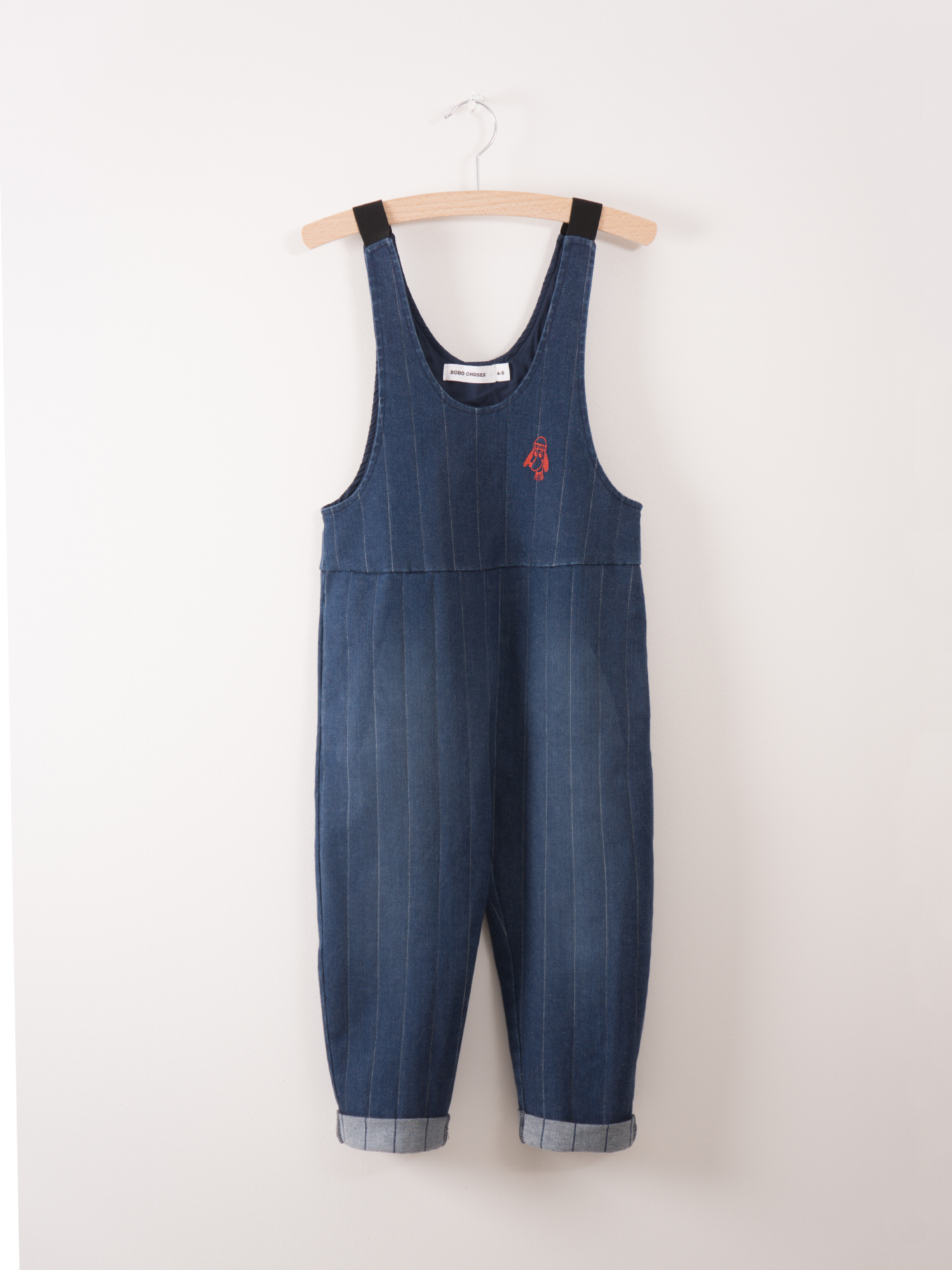 《BOBO CHOSES 2017AW》Denim baggy overall