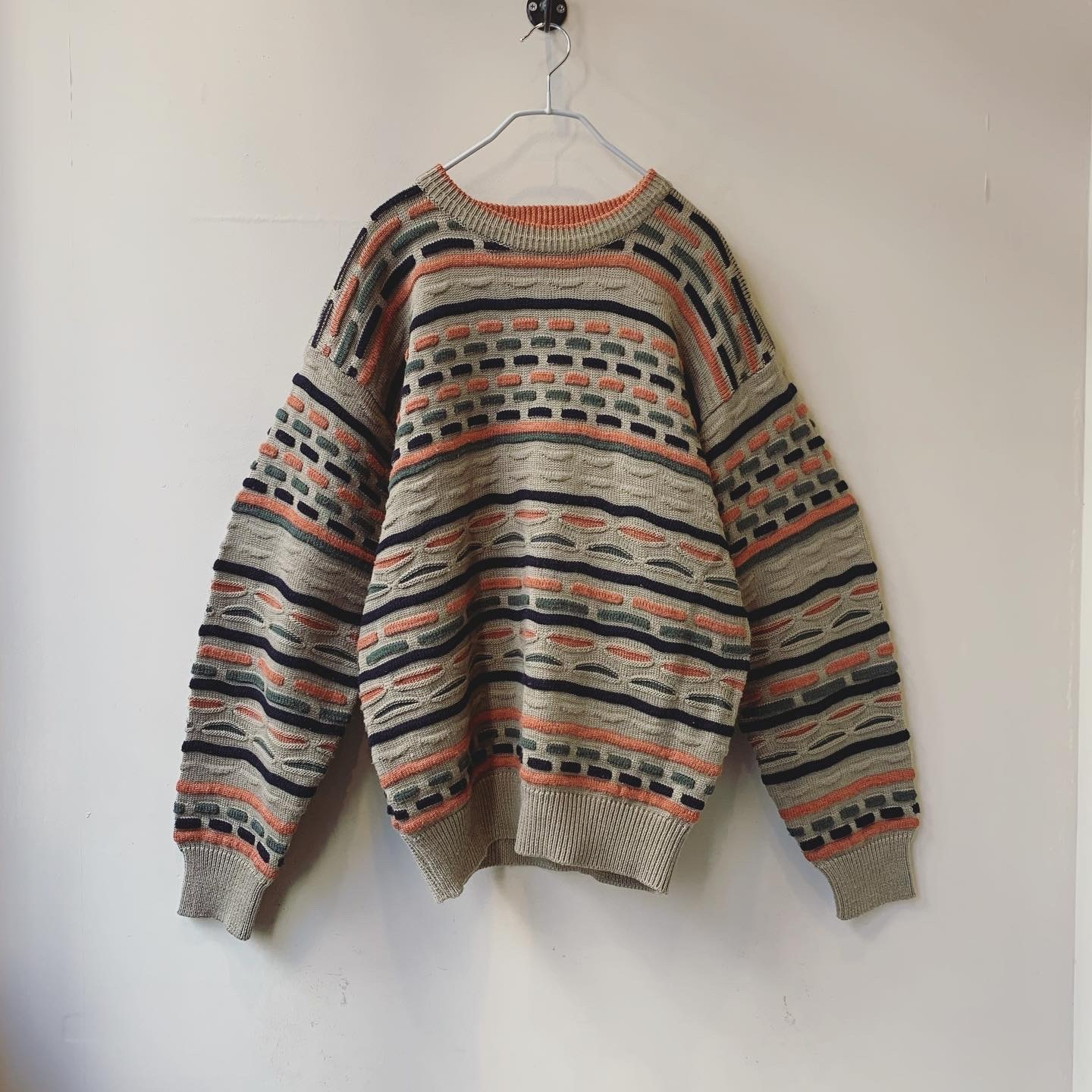 vintage design knit sweater