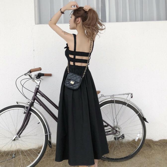【dress】人気気質アップファッションデートワンピース20496156