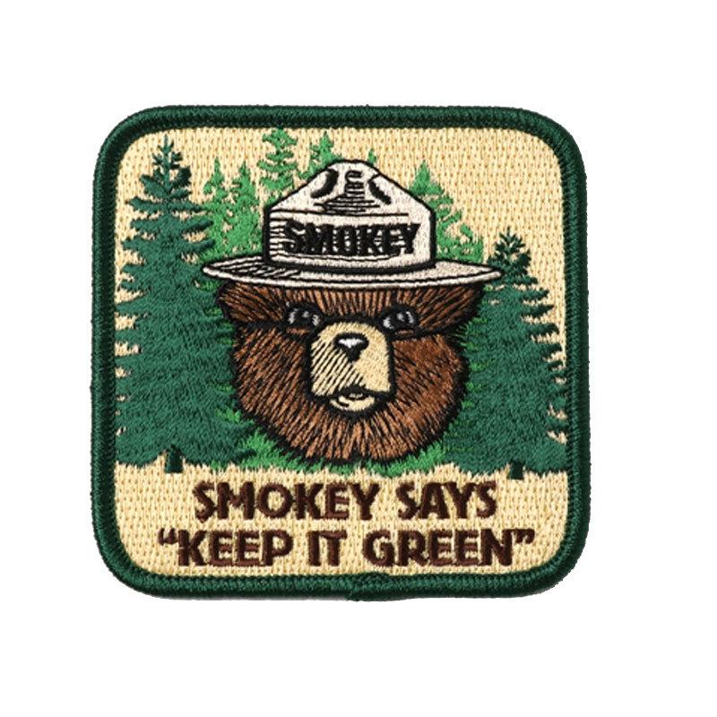 スモーキーベア KEEP IT GREEN パッチ