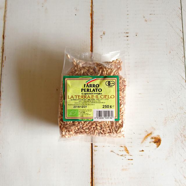有機スペルト小麦 ファッロ・ペルラート 250g