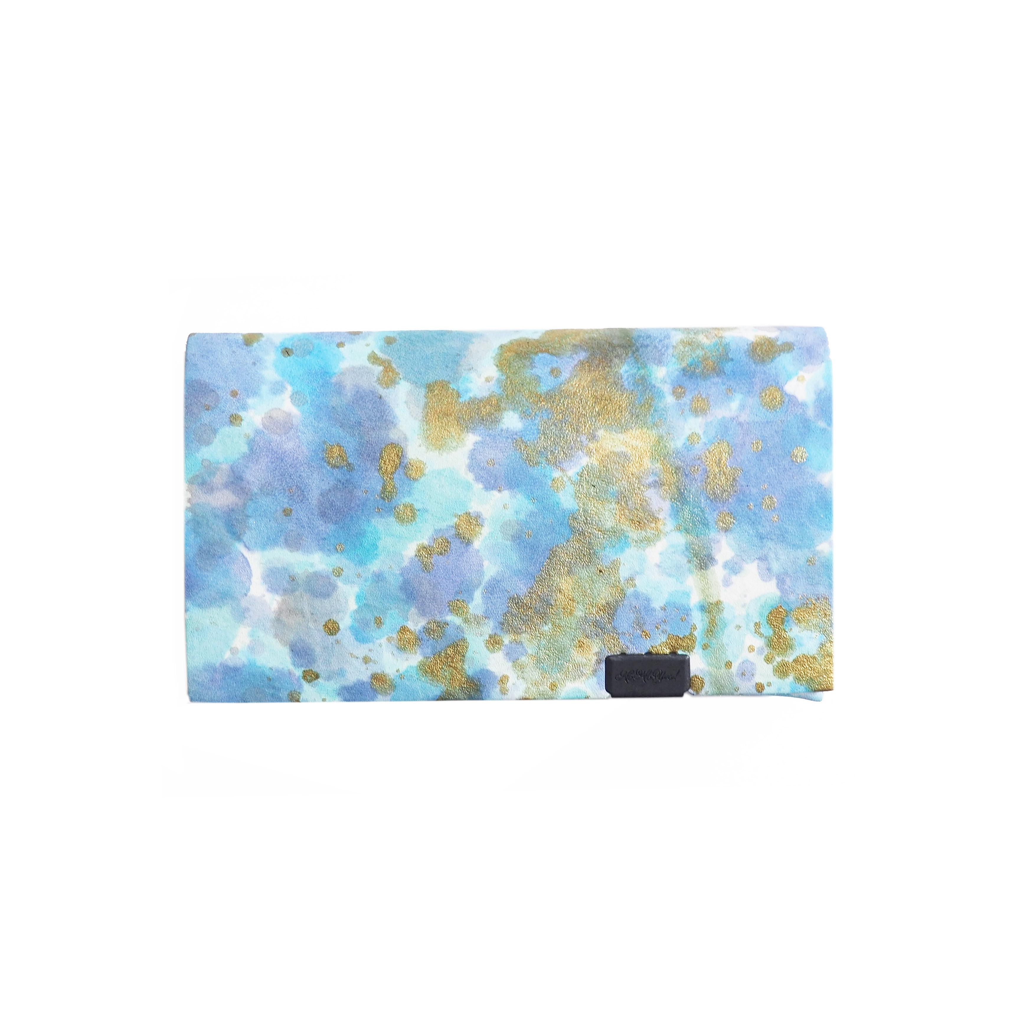 印象派 -コインケース-  ブルー