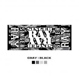 RAY NEW TOWEL 2016 GLAY X BLACK