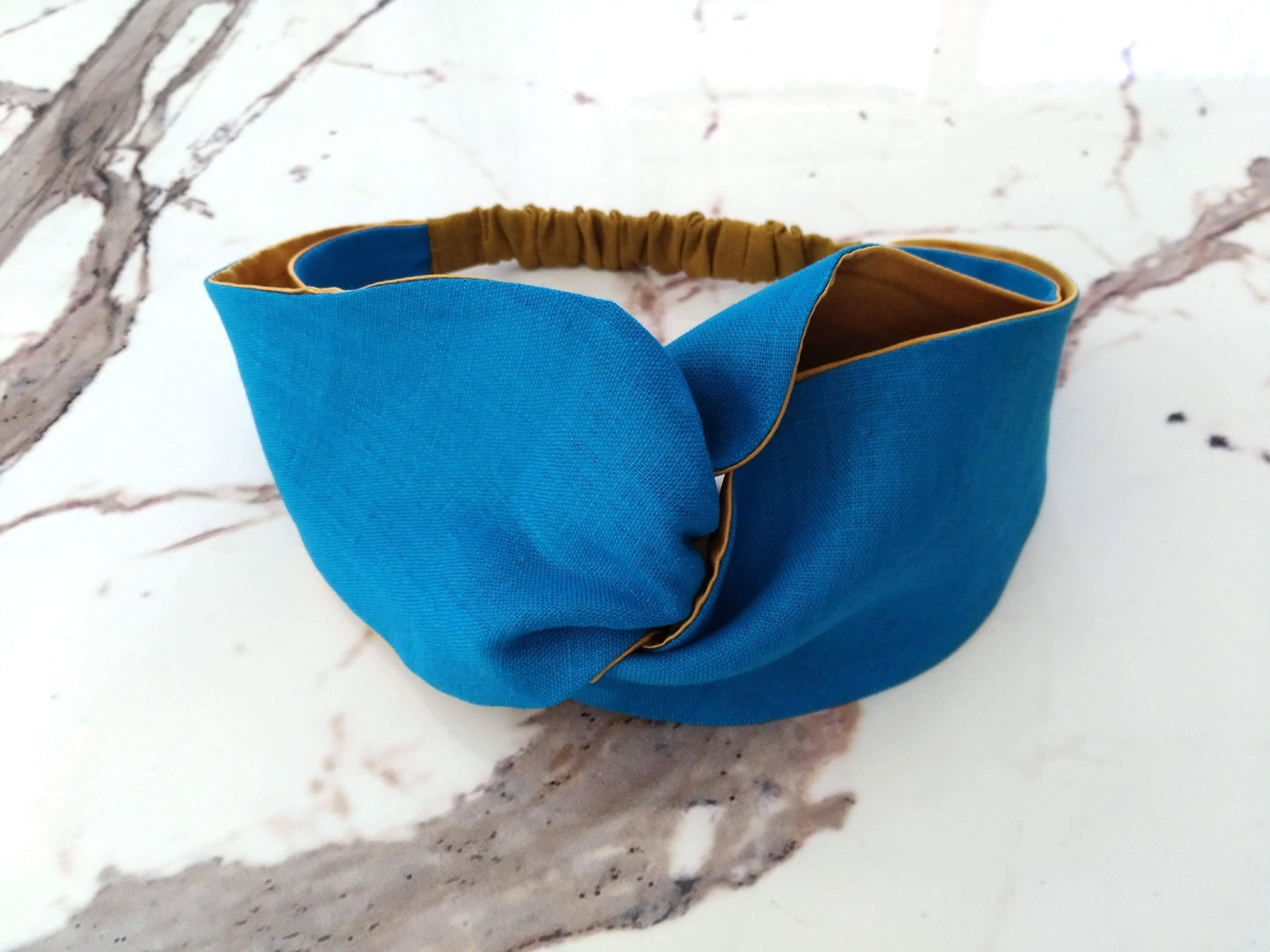 Kiki Turban Turkish Blue キキターバン ターキッシュブルー