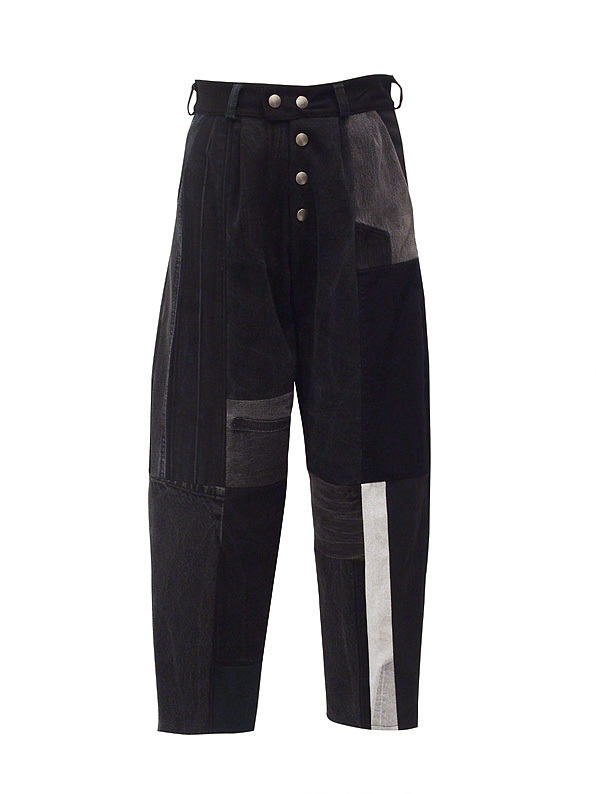 FADE OUT Label / COBALTO Trousers / Black