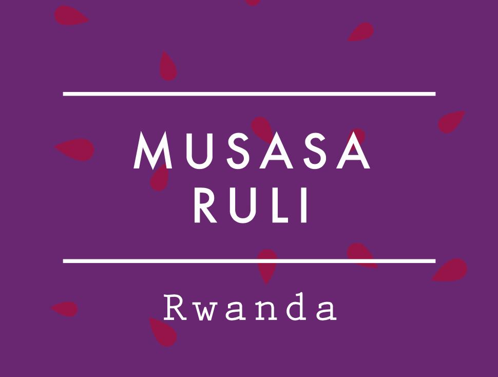 【100g】ルワンダ  /  MUSASA  RULI  LOT 13/04