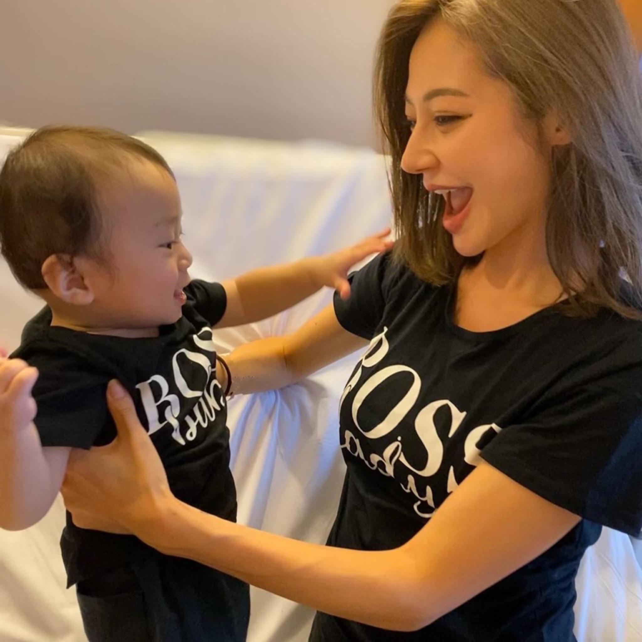BOSS Lady &BOSS Baby親子ペアTシャツ/お揃い/80〜120/S〜XXL