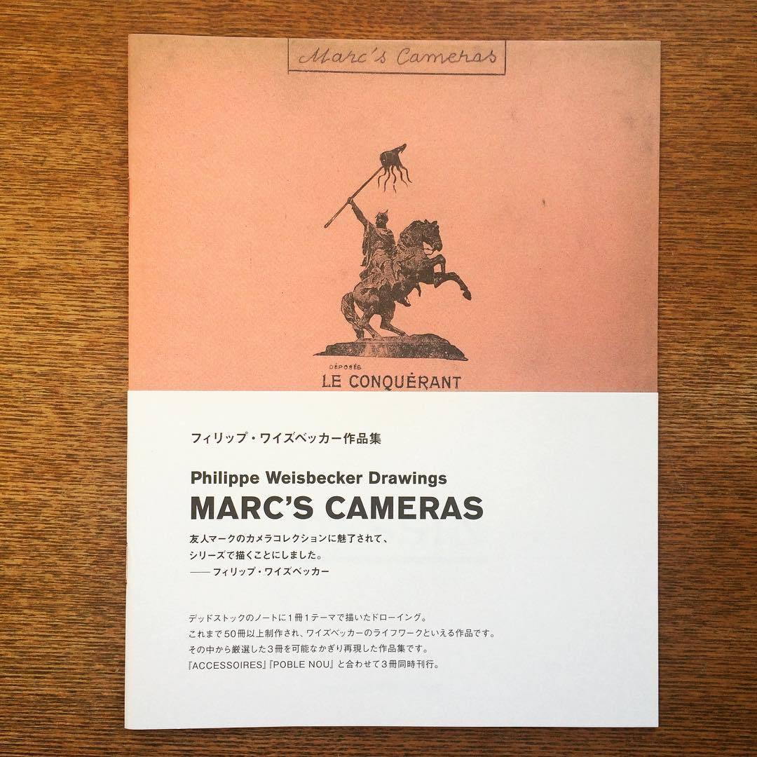 ZINE「MARC'S CAMERAS マークスカメラ/フィリップ・ワイズベッカー」 - 画像1