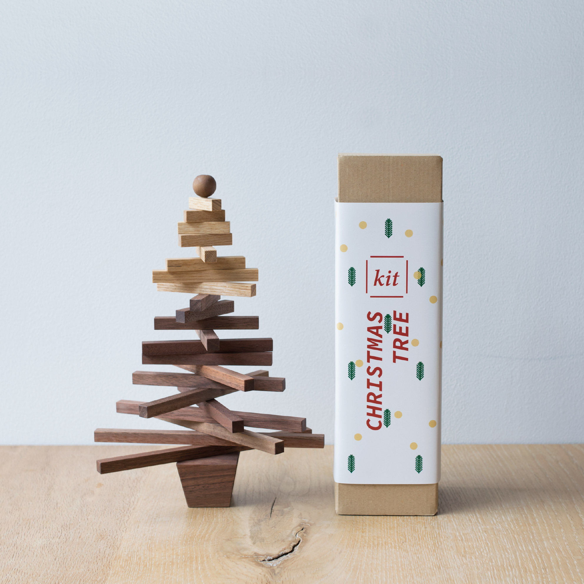 Christmas tree / S KIT (木のクリスマスツリーキット)