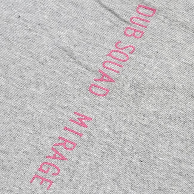 DUB SQUAD - MIRAGE Tシャツ(グレー) - 画像4