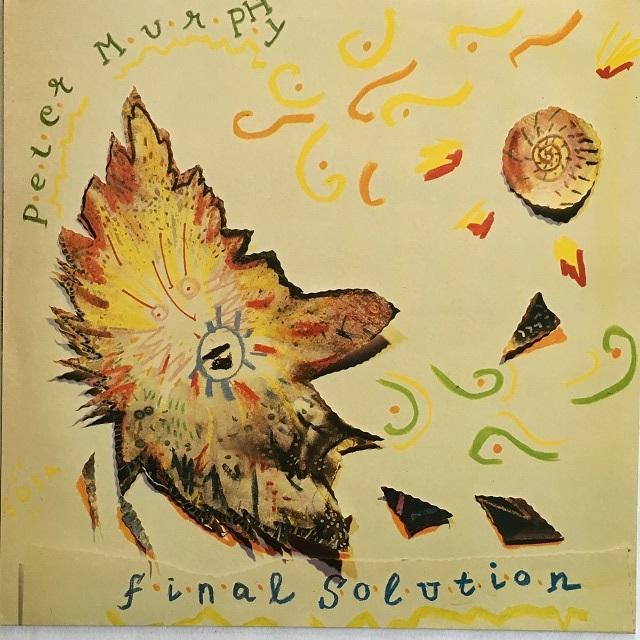 【12inch・英盤】Peter Murphy / Final Solution