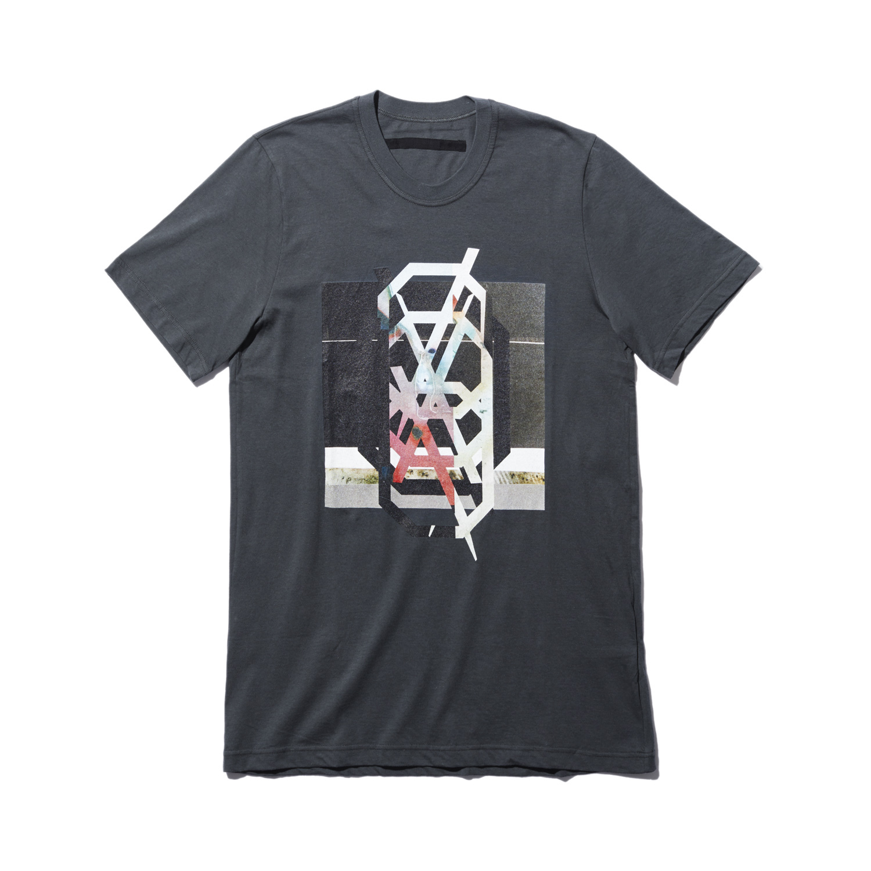 740CPM3-COLD GRAY / NILøS プリント Tシャツ ver.3