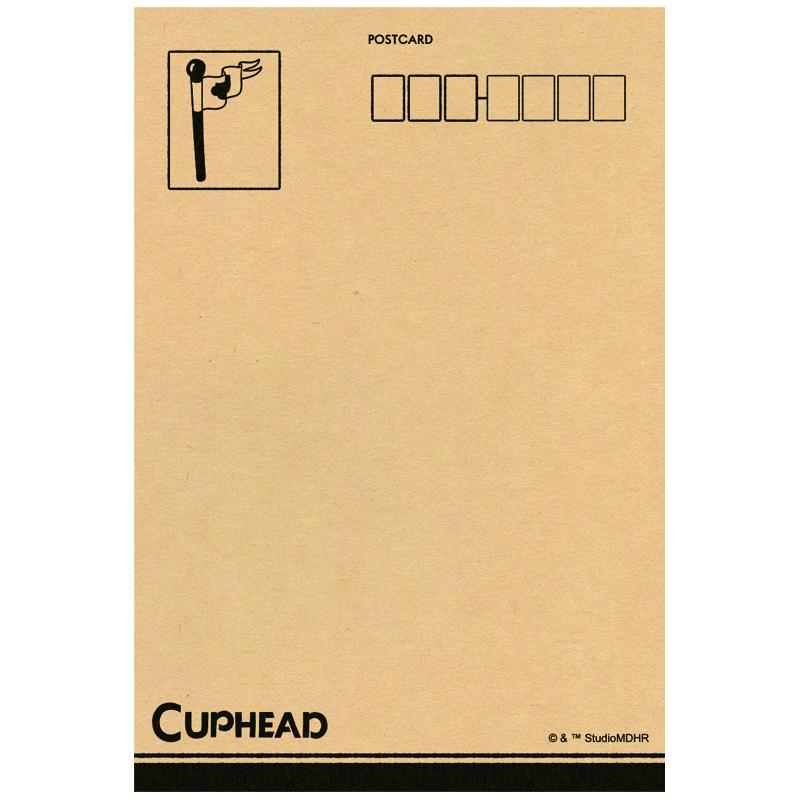 CUPHEAD ( カップヘッド ) ポストカード③ カップヘッド&マグマン / エンスカイ
