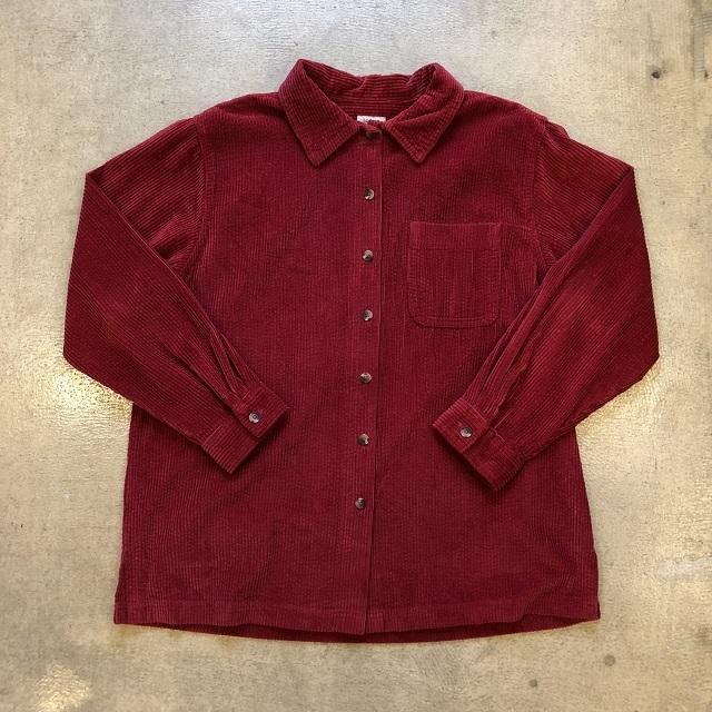 LLbean Corduroy Shirt #01
