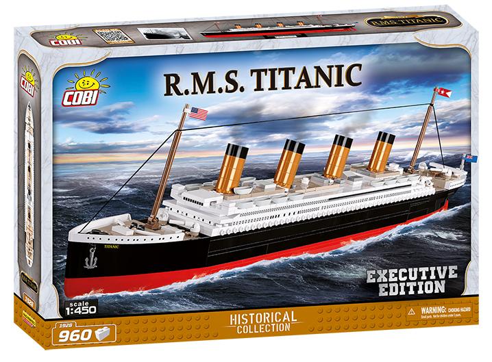 COBI #1928 RMSタイタニック  (Titanic) 1/450 scale (ED)