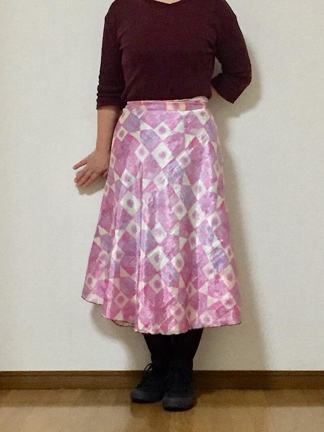 dss-049 【新価格】シルクサリー巻きスカート ショート
