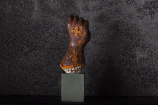 18世紀聖人像の手
