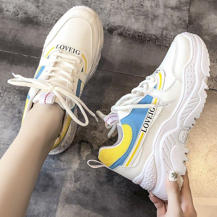 【shoes】配色ファッション合わせやすいスニーカー26722659