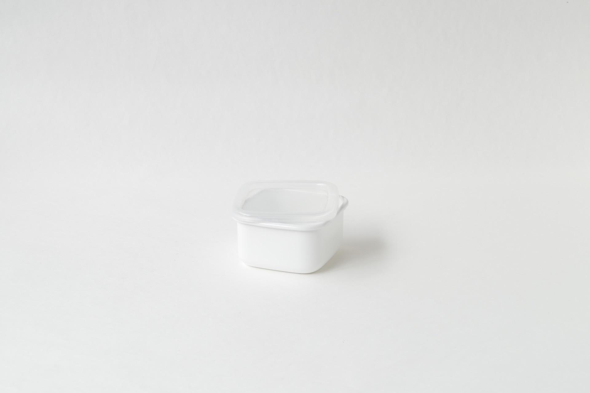 野田琺瑯  スクエアS  シール蓋つき