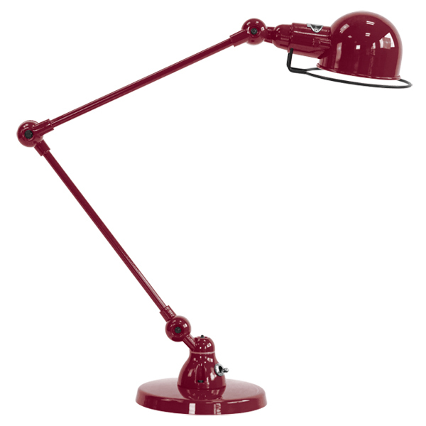 Jielde Signal Desk Lamp Burgundy