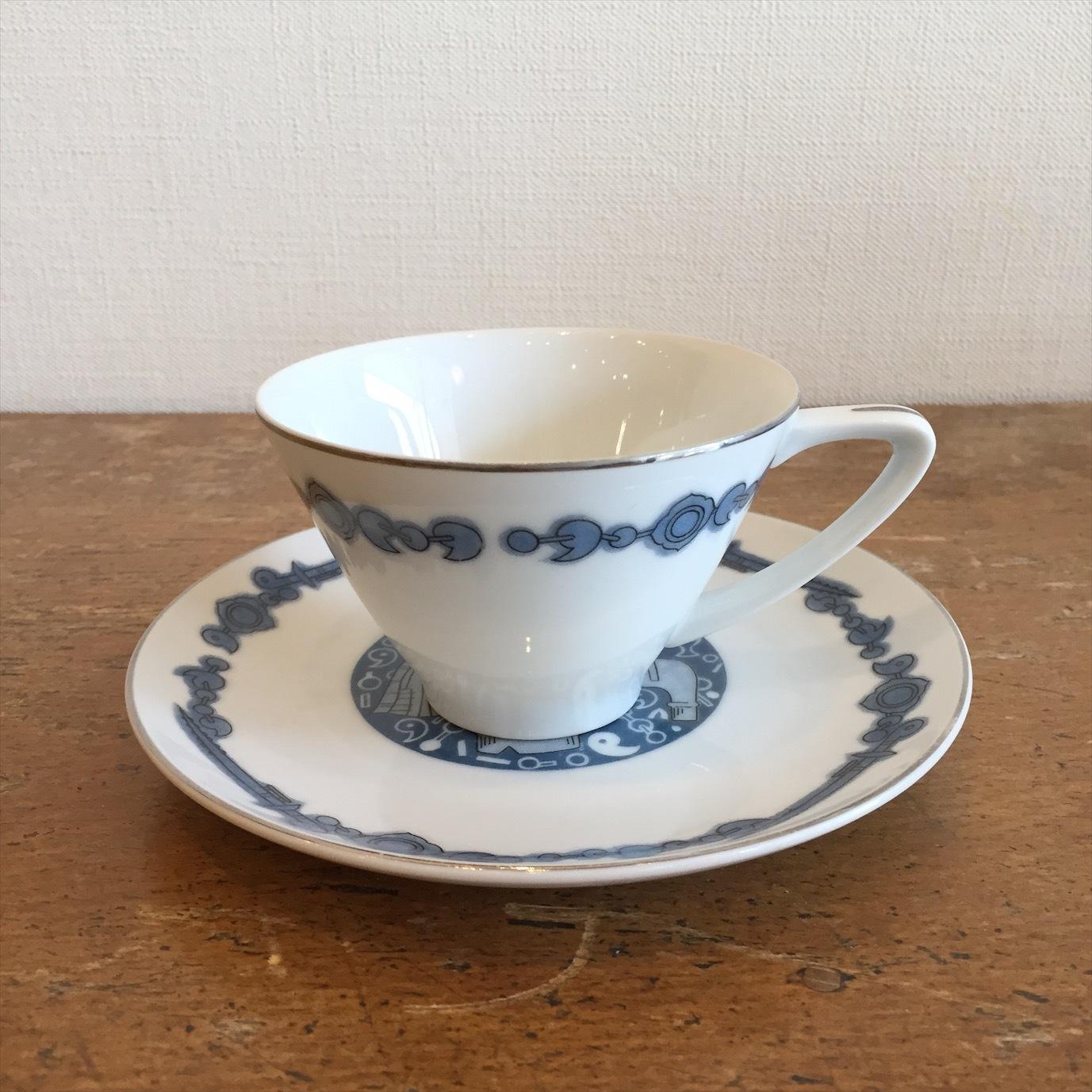 埴輪のカップ&ソーサー(Jyoto)