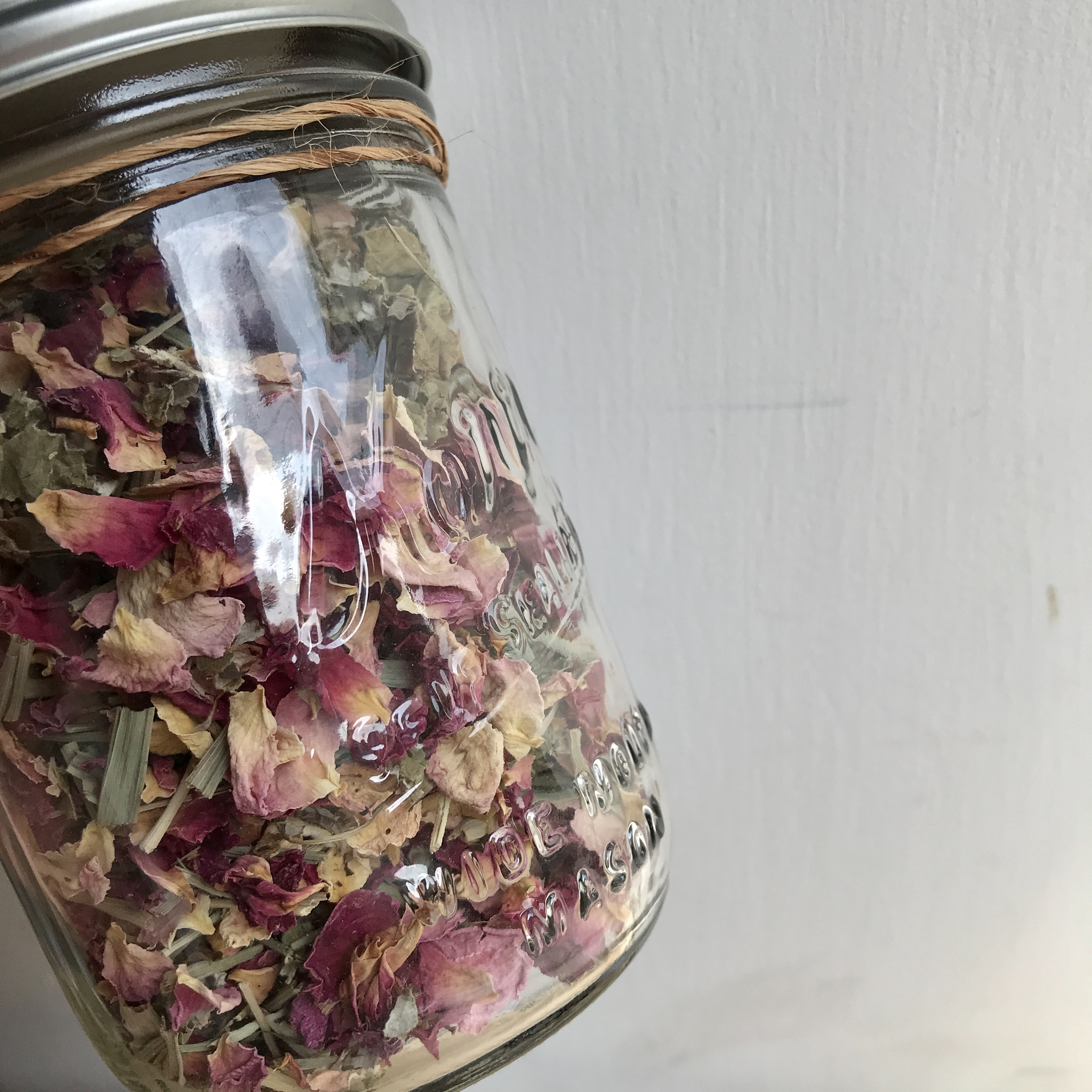 """"""" FROM NOW ON... herbal tea オーガニックハーブティー / Pink & Red Roases 15g  """""""
