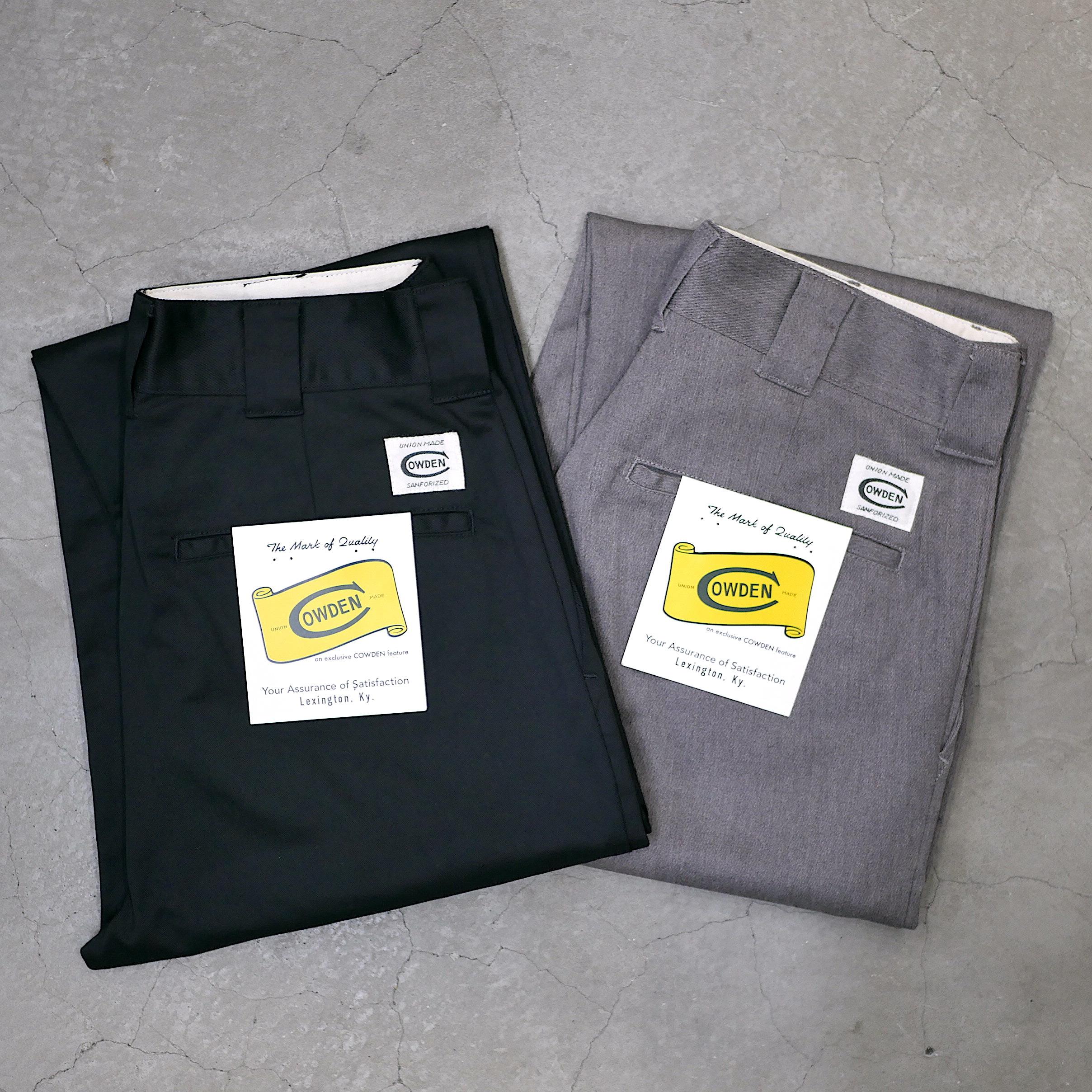 COWDEN / STRAIGHT WORK PANTS