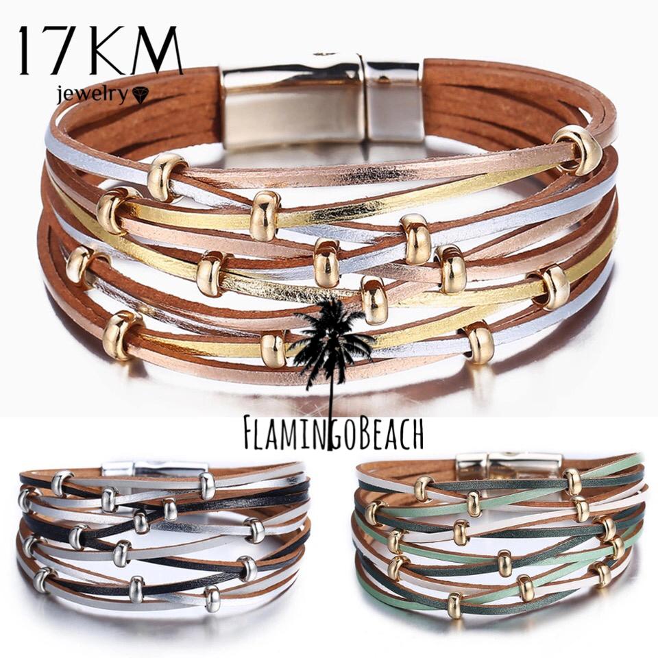 【FlamingoBeach】shiny bracelet ブレスレット