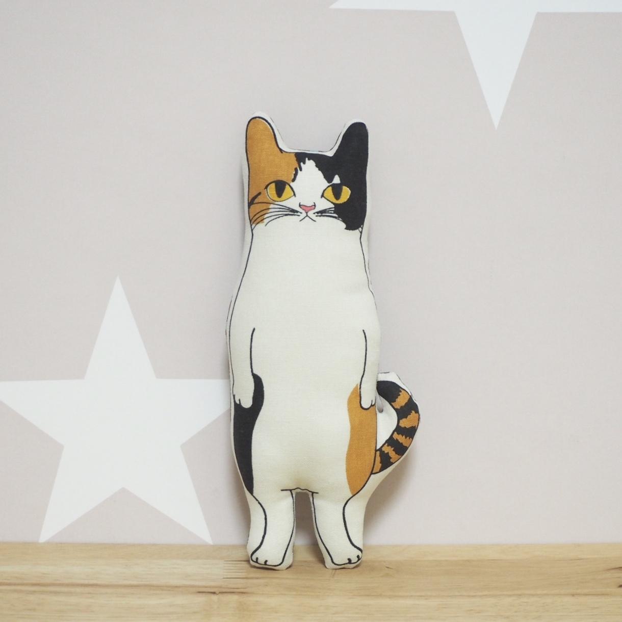 〈受注制作〉三毛猫 ヌイグルミ