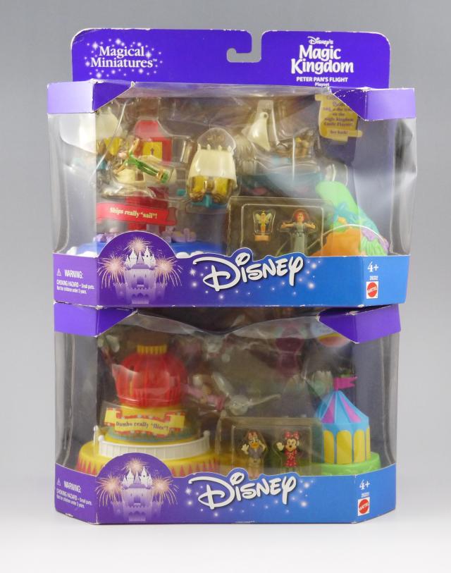 ディズニー マジックキングダム用 ピーターパンライド&フライングダンボ 箱入り新品