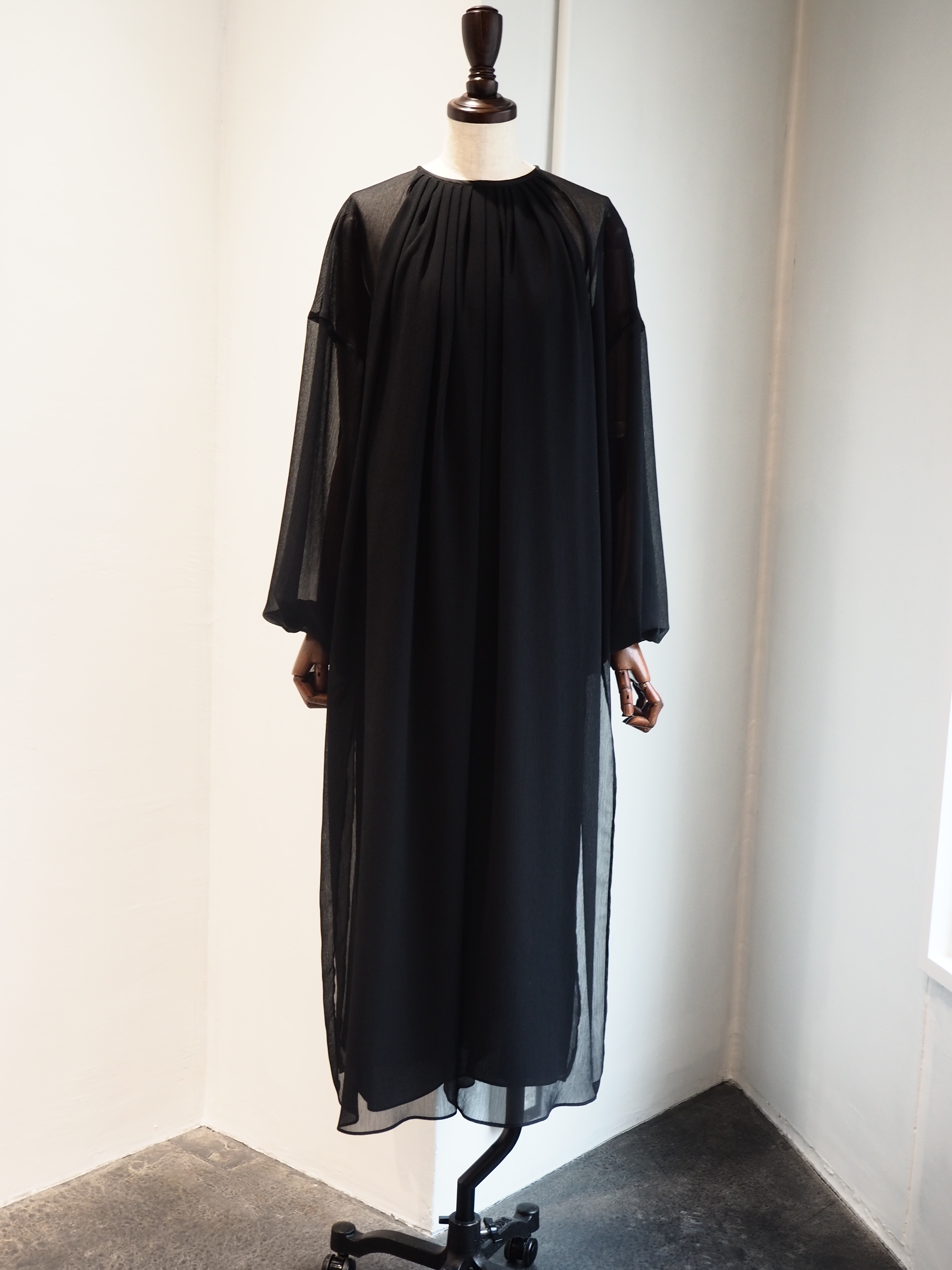 【ELIN】SHEER LAYERED DRESS