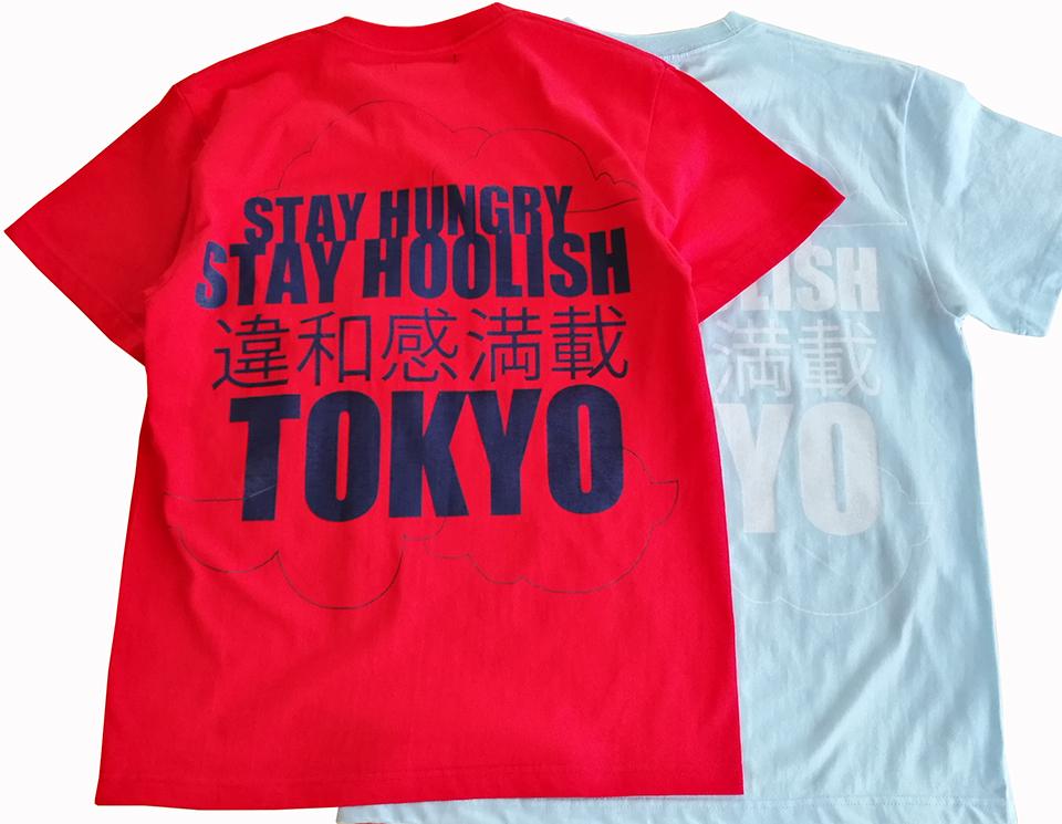違和感満載TOKYO TEE
