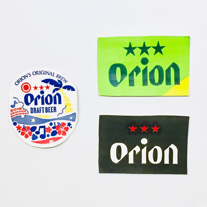 オリオンビール ステッカー 小 / rubodan ( ルボダーン )