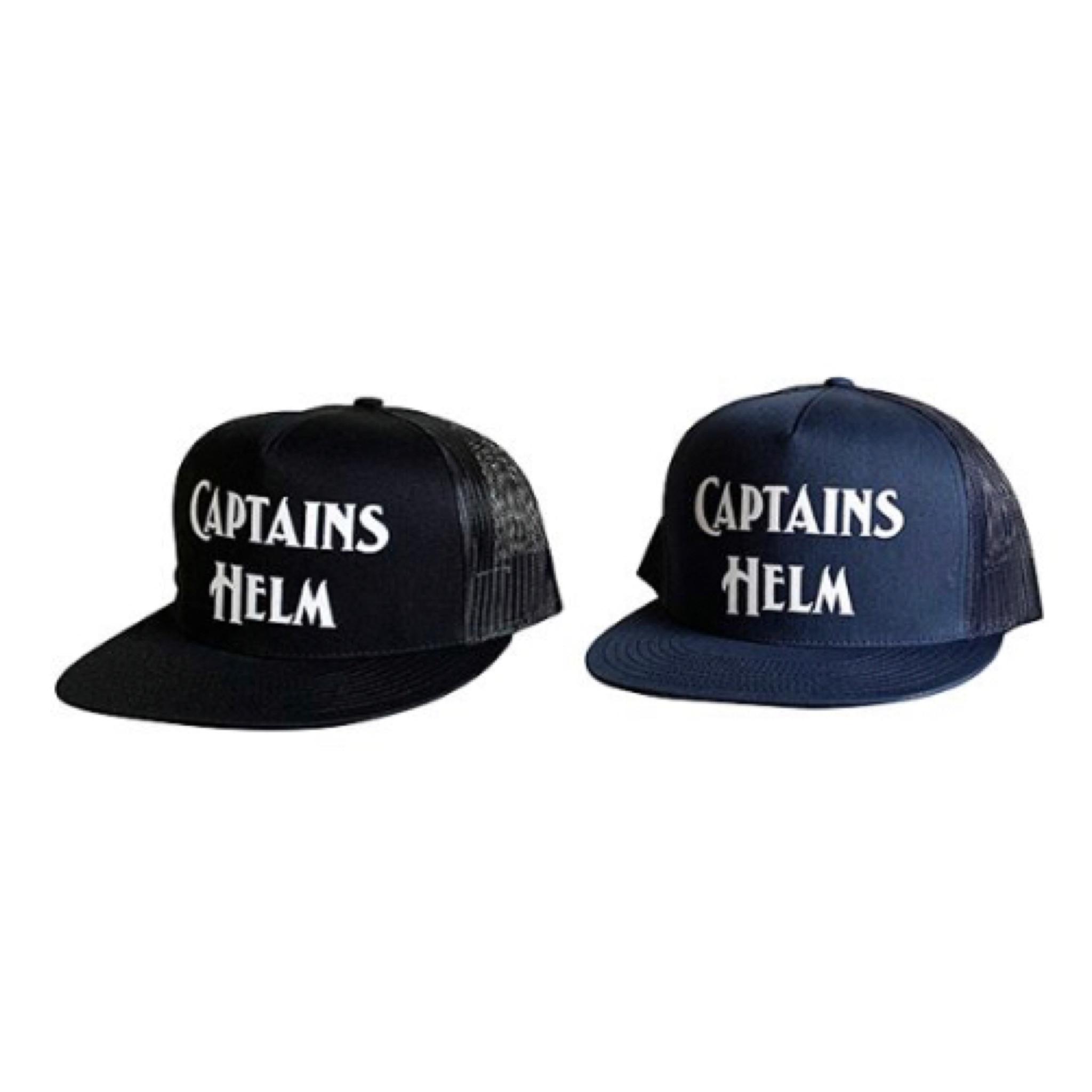 CAPTAINS HELM #Logo Mesh Cap