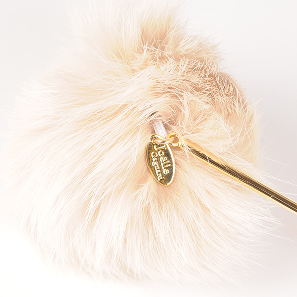 Joe17AW-19 fur hair pin