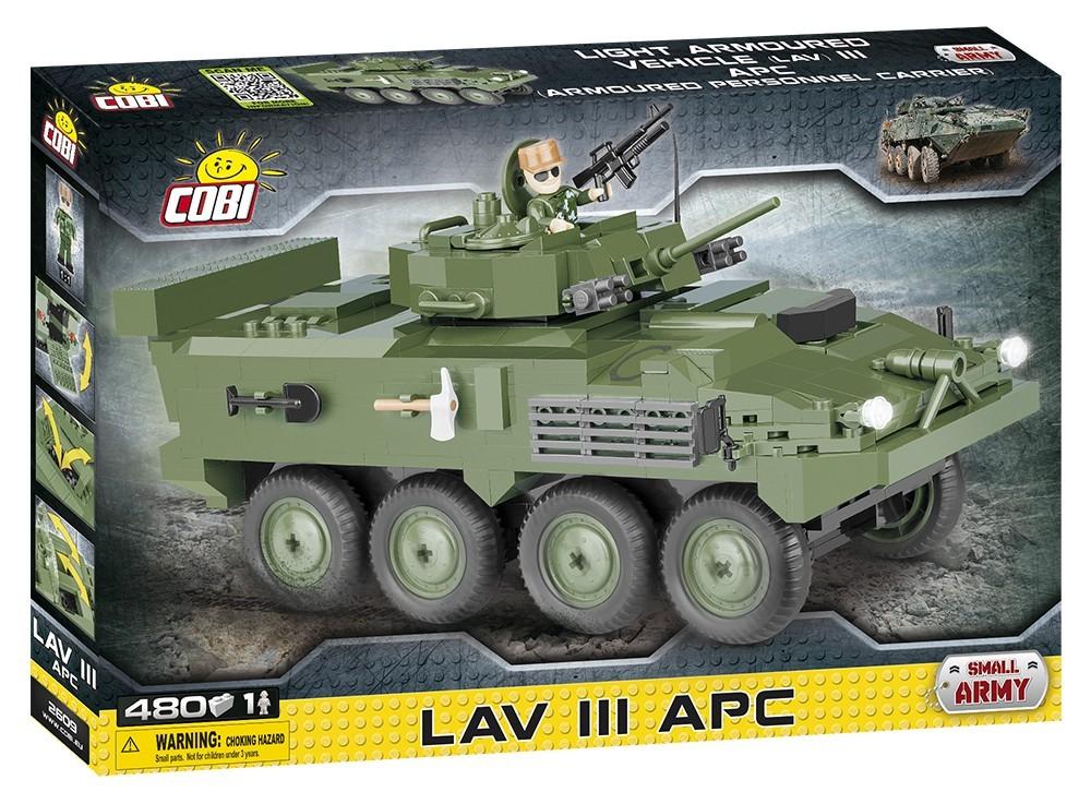 COBI #2609 LAV III APC 装輪式装甲兵員 輸送車