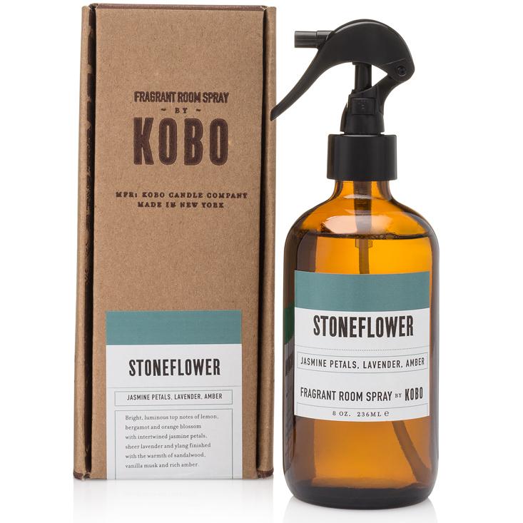 STONEFLOWER - WOODBLOCK ROOM SPRAYS