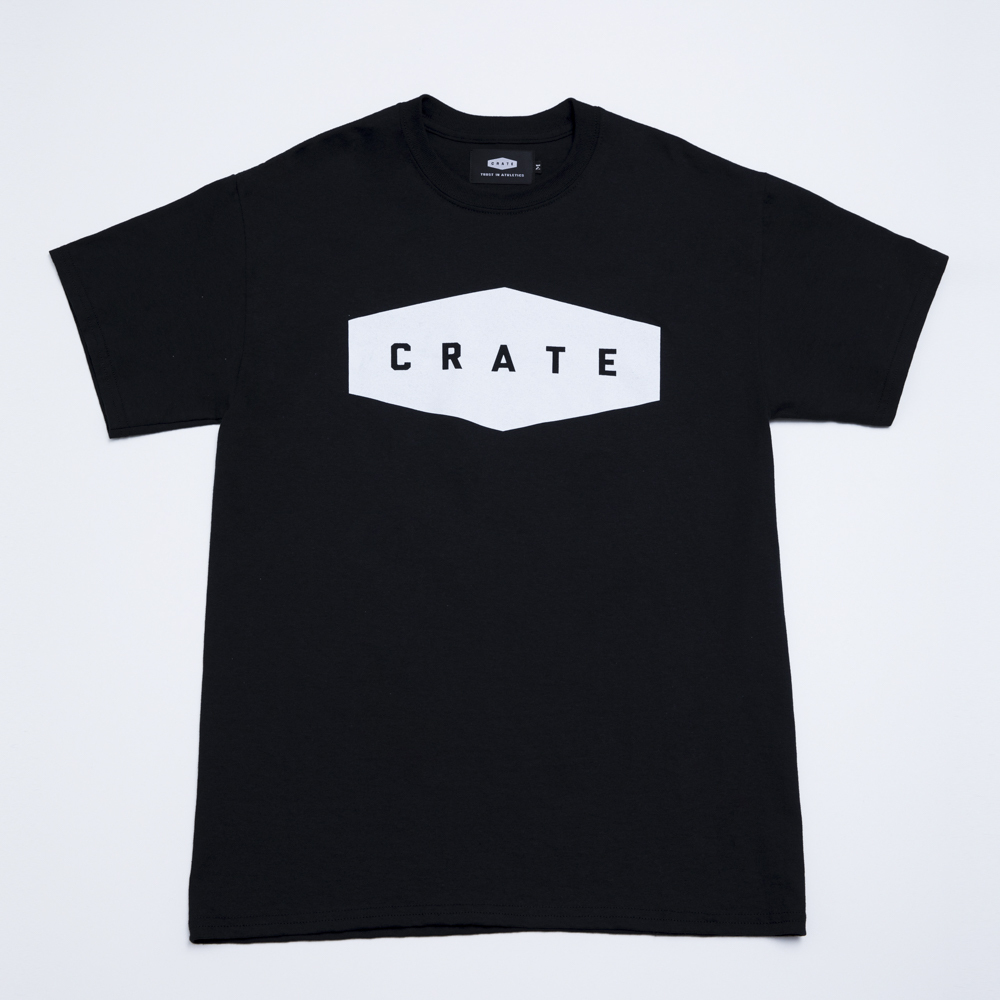 Crate Basic T-Shirt - Black