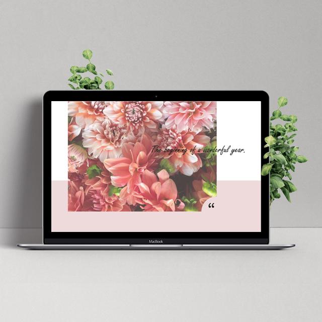 【デスクトップ画像】MacBook用_Flower-square
