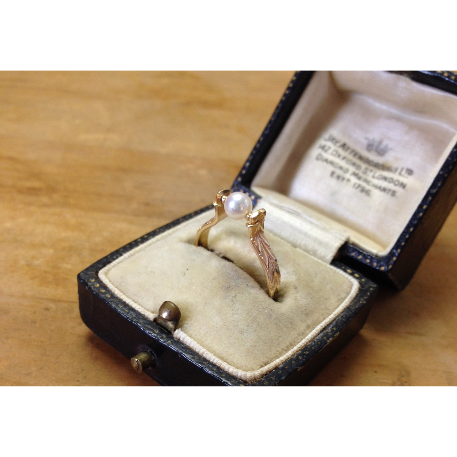 《sale》Baby-pearl♥︎ring14kgf