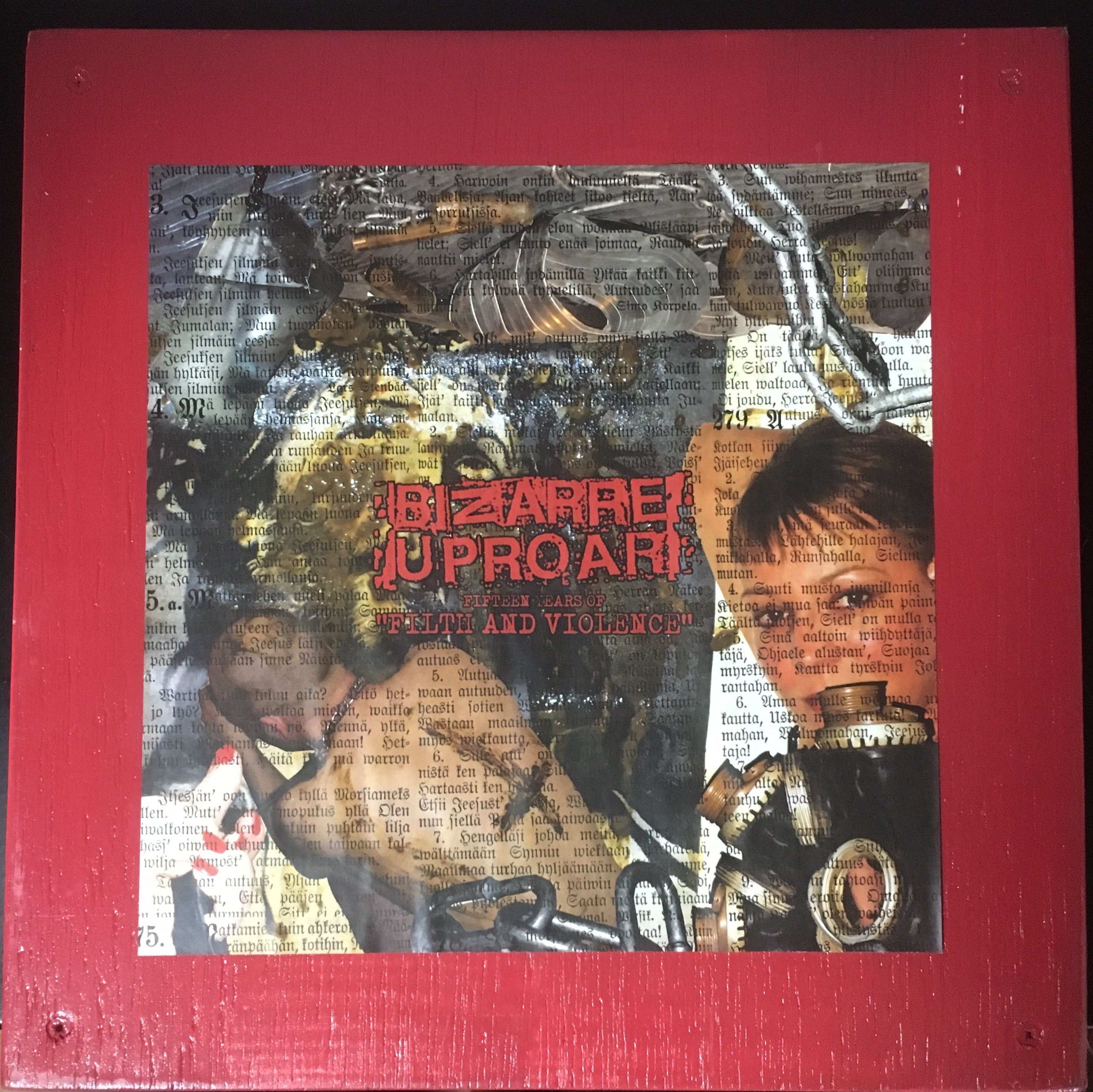 "Bizarre Uproar ‎– Fifteen Years Of ""Filth And Violence""(SP-BOXSET)USED"